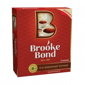 Чай черный Brooke Bond в пакетиках